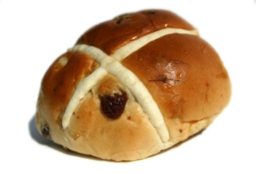 Hot Cross Bun - Ravens Bakery