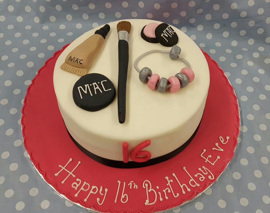 Beauty Theme Cake