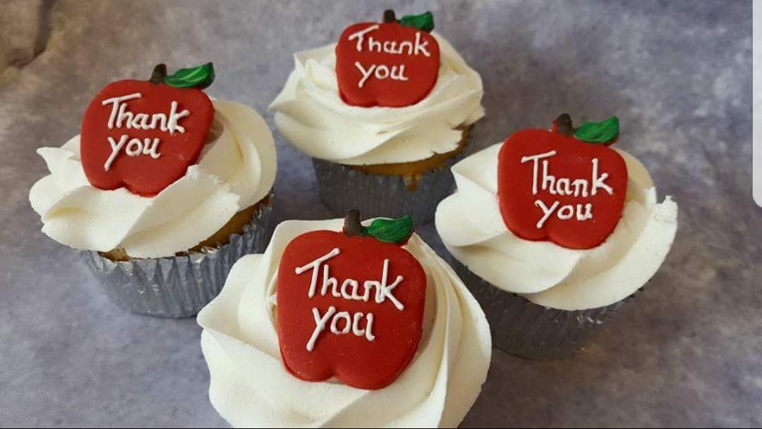 thankyou cupcakes
