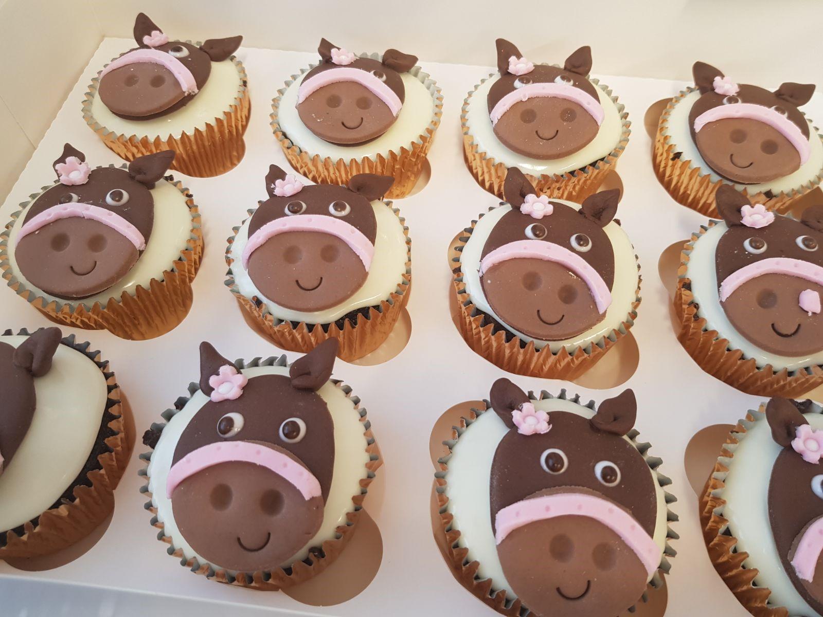 Horse Head Cupcakes Ravens Bakery Of Essex Ltd