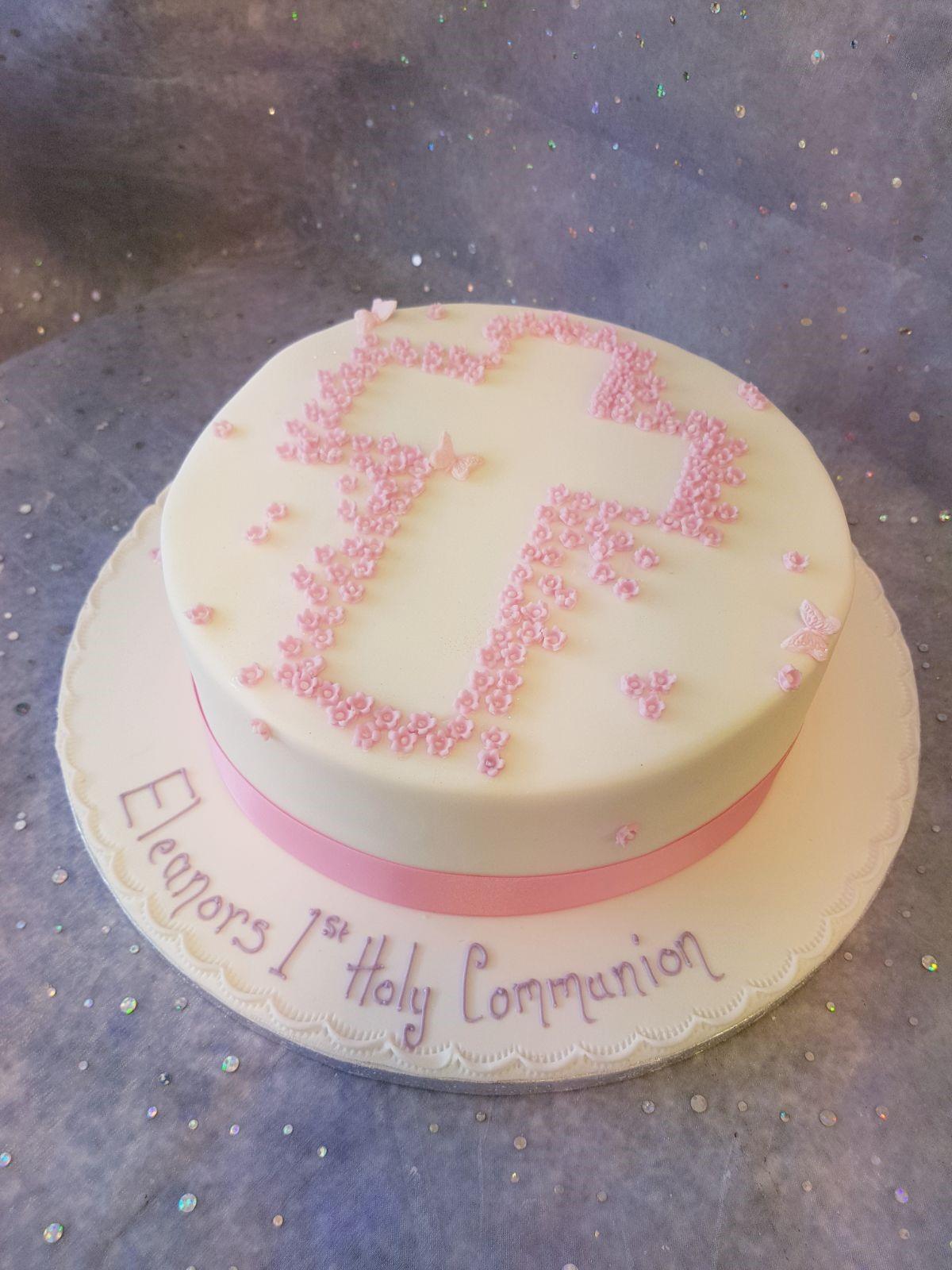 1st Holy Communion Cake Ravens Bakery Of Essex Ltd