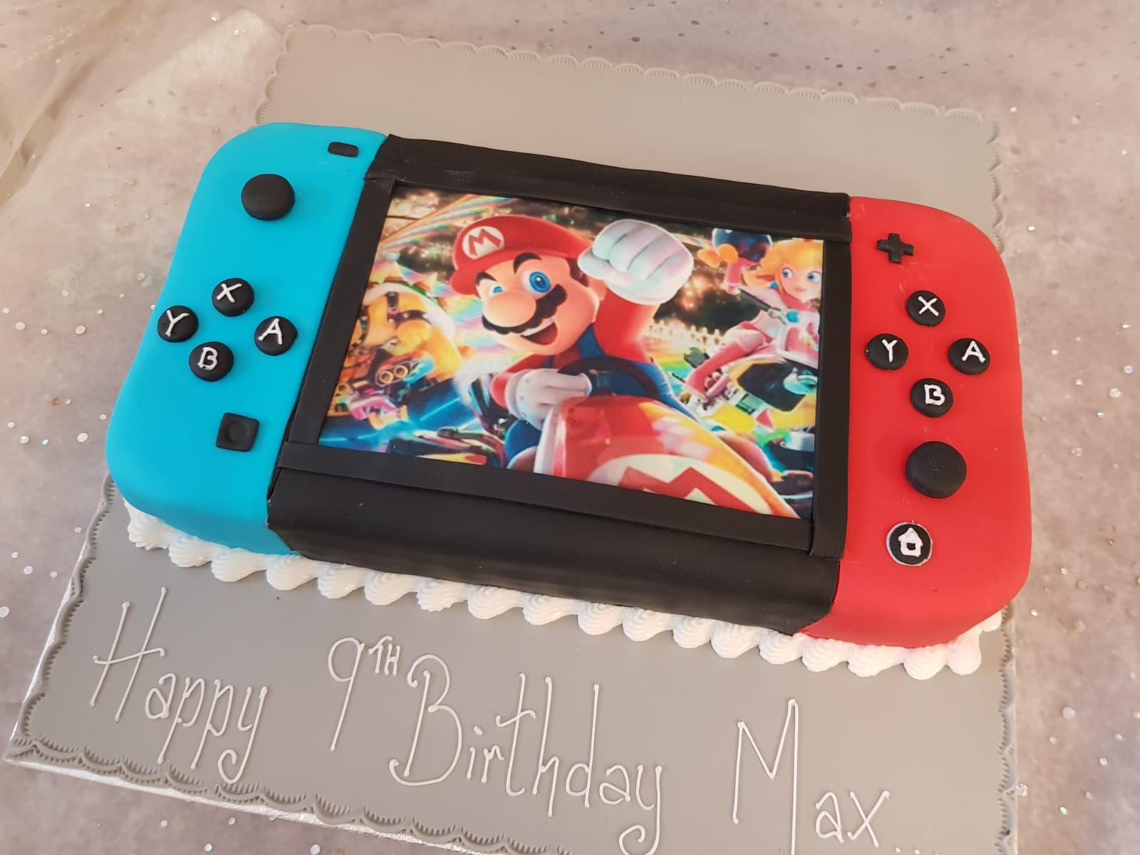 058 Nintendo Switch Mario Ravens Bakery Of Essex Ltd
