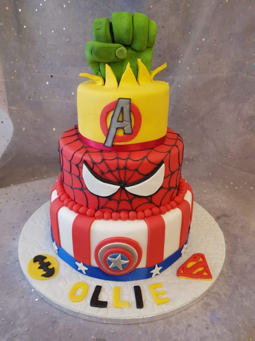 3 tier marvel theme