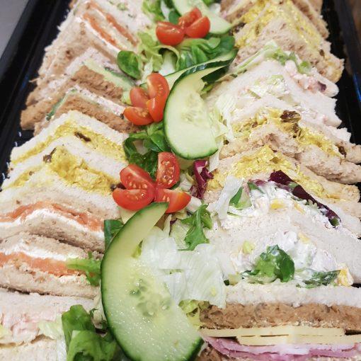 platter sandwiches