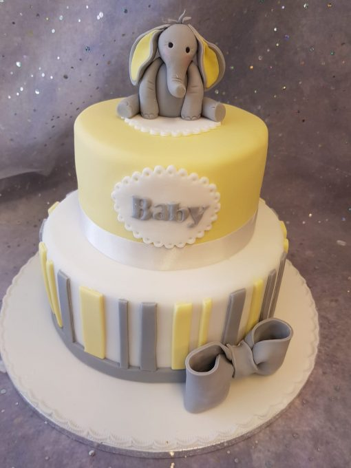 baby shower elephant