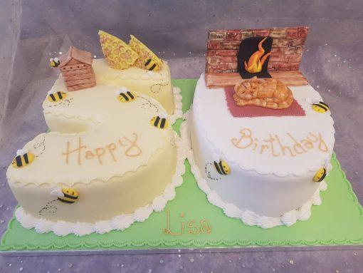 50 figure cake