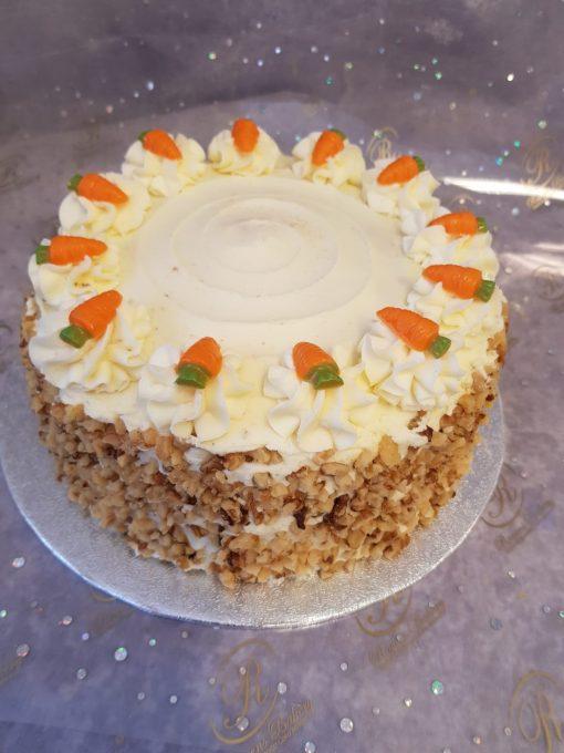 6 carrott cake