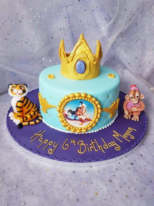 aladdin theme cake