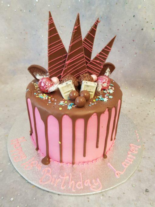 drip shard cake