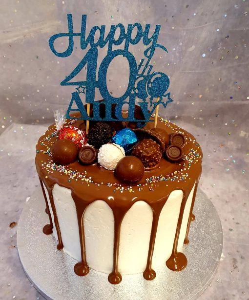 topper drip cake