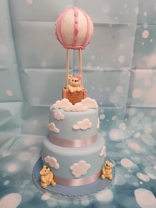 BABY SHOWER HOT AIR BALLON