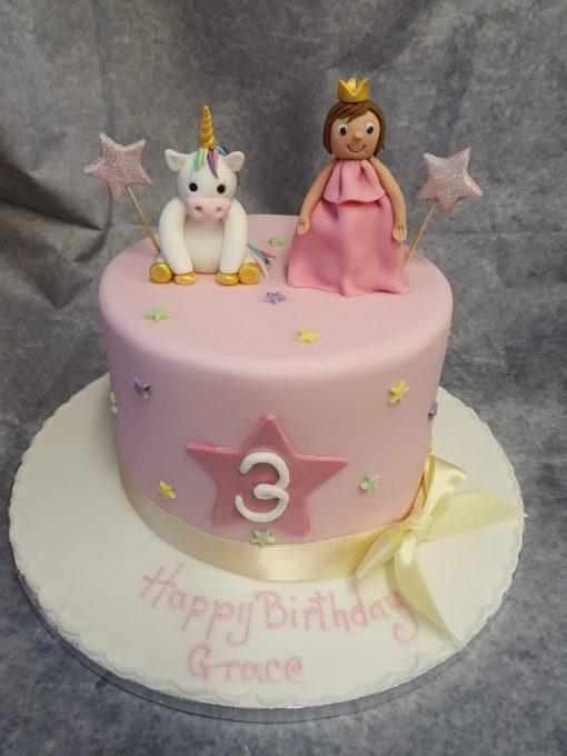 unicorn & princess