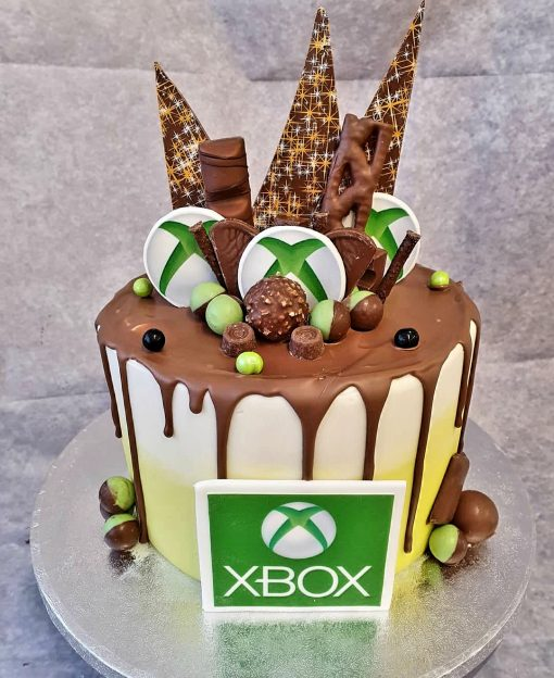 xbox drip cake